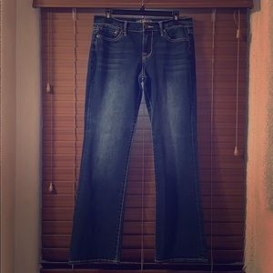 Lucky brand size 8 regular sweet 'n low blue jeans
